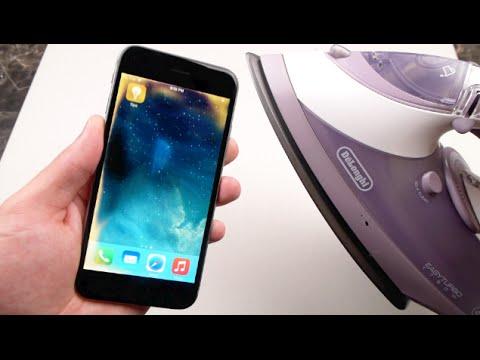 Buharlı Ütü İle Serin İphone 6 Efektleri Ekleyin!