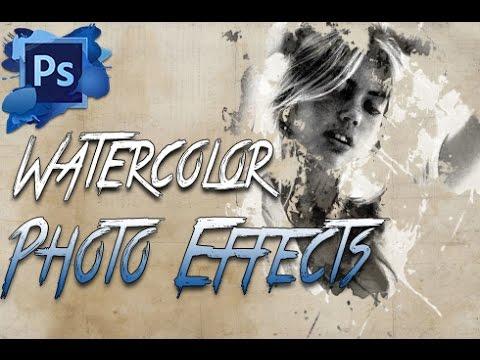 Photoshop Cc Eğitimi: Suluboya Fotoğraf Manipülasyon Etkisi Hd 2014