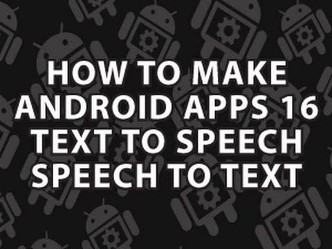 Nasıl Android Uygulamaları 16 Yapmak