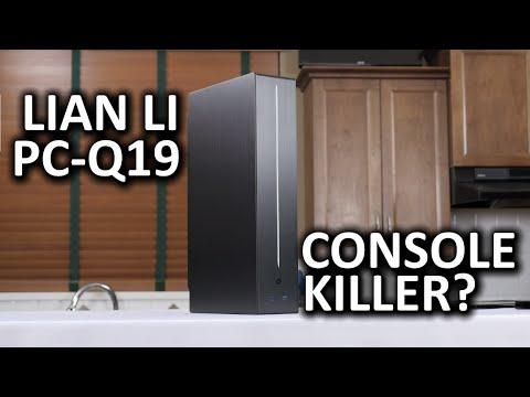 """Lian Li Pc-S19 """"katil Konsol"""" Pc Case"""