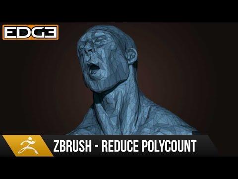 Zbrush Eğitim - Nasıl Konserve Ayrıntılar İse Polycount Azaltmak İçin