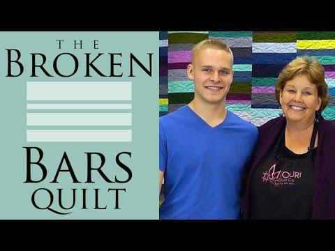 Kırık Barlar Yorgan: Kolay Öğretici Jenny Anomali Missouri Star Yorgan Co İle Kapitone