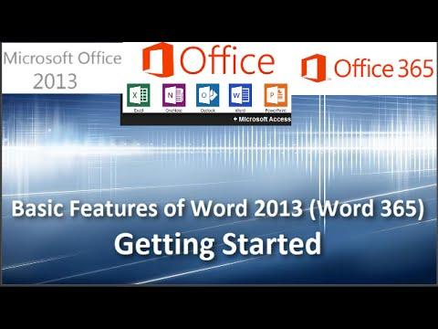 3. Temel Özellikleri Word 2013 (Word 365): Yazı Tipleri, Stilleri, Format Ressam Vs.