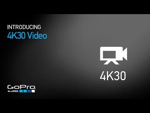 Gopro Hero4 Siyah: 4 K 30 Video Tanıtımı