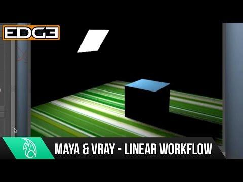 Maya Tutorial Serisinin Yeni Başlayanlar İçin - Doğrusal İş Akışı İşleme İçin 01 Vray