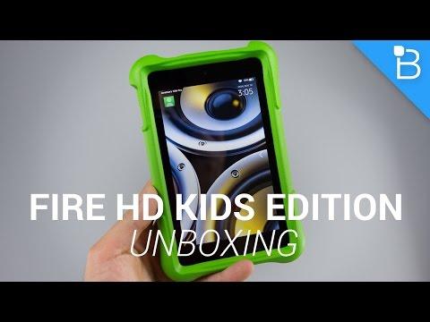Amazon Yangın Hd Çocuklar Edition Unboxing!
