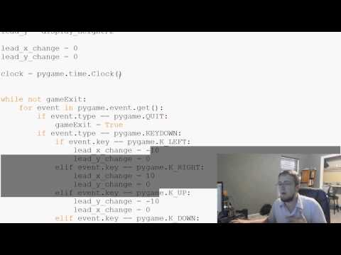 Pygame (Python Oyun Geliştirme) Eğitimi - 13 - Hardcoding Sabitleme