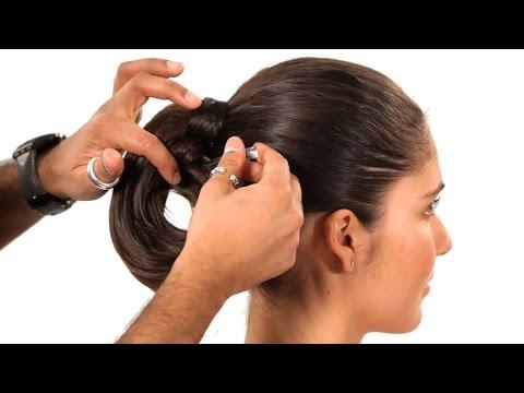 Yapılandırılmış Döngü At Kuyruğu Nasıl | Salon Saç Tutorial