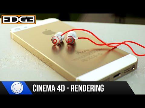 Sinema 4 D Ve Oktan 2.0 Eğitimi - İşleme İphone5 Ve Beats Kulaklıklar Bölüm 3 Hd