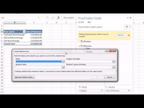 Excel Büyü Hüner 1151: İki Tablo İçine Tablo Alanı Excel 2013 Kullanarak Liste Almak