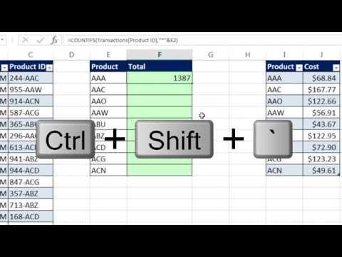 Excel Sihir Numarası 1152: Formül Veya Güç Sorgu: Ne Zaman Ürün Kimlikleri Eşleşmiyor Rapor Maliyet