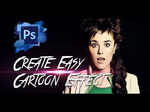 Kolay Çizgi Film Efekti Photoshop Eğitimi 2014 Oluşturun