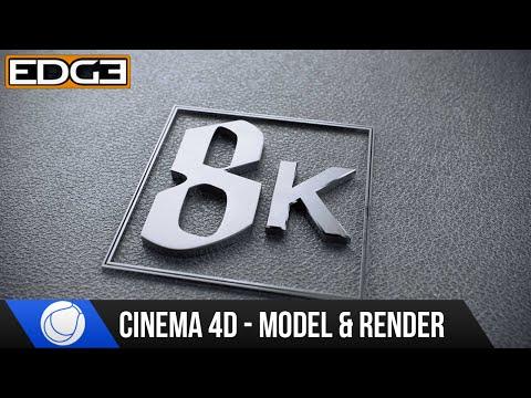Sinema 4D Ve Oktan 2.0 Modelleme Ve Render Eğitimi - 8 K Rozeti
