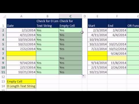 Excel Sihir Numarası 1155: Eğer İşlevi: (5 Yöntem) Boş Hücreleri İçin Kontrol
