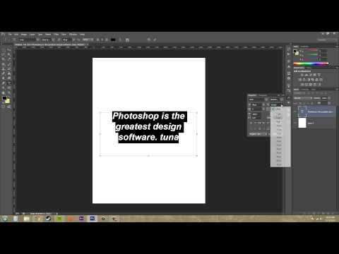 Photoshop Cs6 Öğretici - 181 - Paragraf Paneli