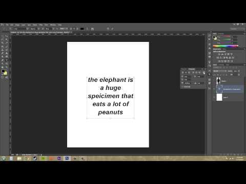 Photoshop Cs6 Öğretici - 182 - Daha Paragraf Paneli