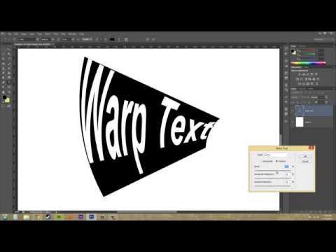 Photoshop Cs6 Öğretici - 184 - Warp Metin