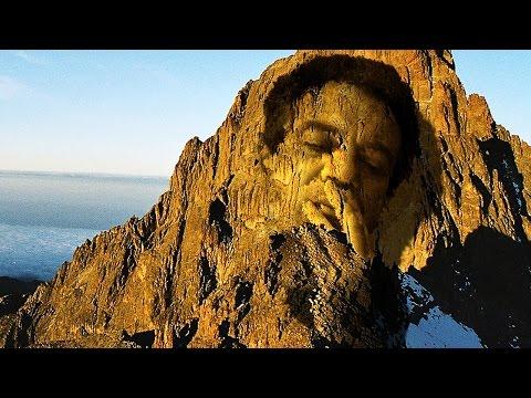 Photoshop: Nasıl Bir Yüz Bir Dağa Carve İçin
