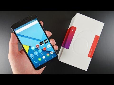 Google Nexus 6: Unboxing Ve Gözden Geçirin