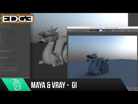 Maya Tutorial Serisinin Yeni Başlayanlar İçin - Global Aydınlatma Rendering İçin 05 Vray