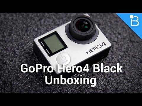 Gopro Hero4 Siyah Unboxing: Küçücük Bir Biçim İçinde Büyük Video Güç