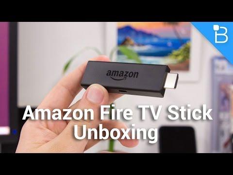 Amazon Yangın Tv Stick Unboxing: Chromecast Yeni Bir Rakip Alır