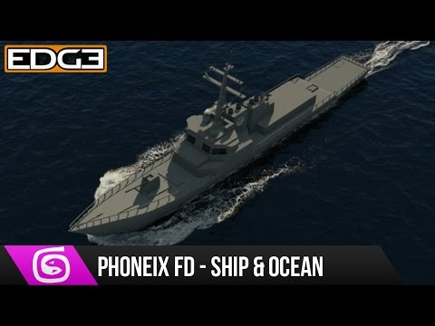 3Ds Max Ve Phoenix Fd Eğitimi - Gemi Okyanus Hd