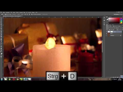 Photoshop Lensflares Meistern    Weihnachtliche Stimmung