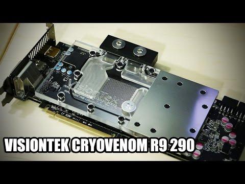 Visiontek Cryovenom R9 290 - Tam Gpu Döngü Bir Kutu İçinde!