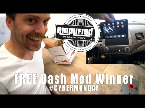 Cyber Pazartesi Sürpriz, Ücretsiz İpad Dash Mod Kazanan!