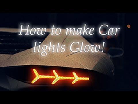 Nasıl Araba Işıkları Parlayan Yapmak