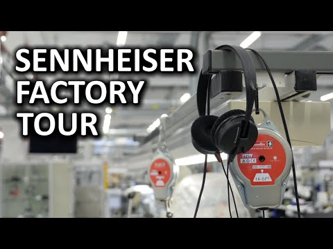 Sennheiser Fabrika Turu - Hanover, Almanya