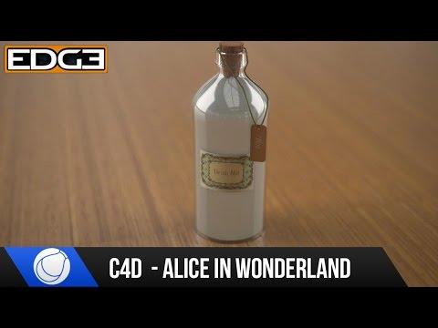 Cinema4D Ve Vray Eğitimi - Alice In Wonderland Şişe Bölüm 1