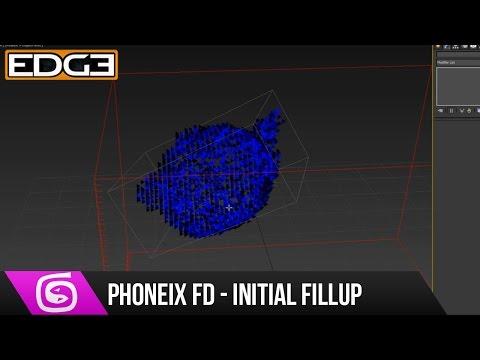 3Ds Max Ve Phoenix Fd Eğitimi - Sıvı Fillup