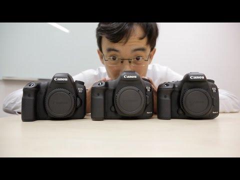 Canon 7D Mark Iı Vs 5D Mark Iıı Vs 6D