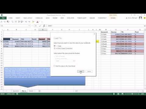 Excel Güç Sorgu #11: Her Satır 3 Kayıt, Uygun Veri Kümesi Tablo Bırakma Vardır.