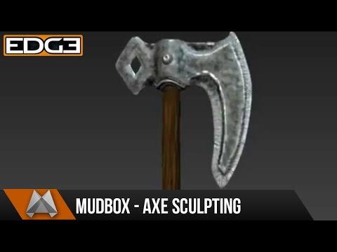 Mudbox Eğitimi - Demir Balta #2 Heykel