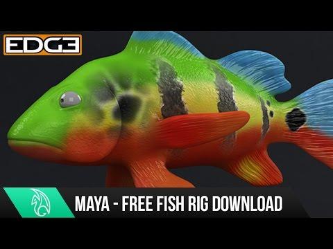 Bedava Balık Teçhizat İçin Autodesk Maya İndir Demo