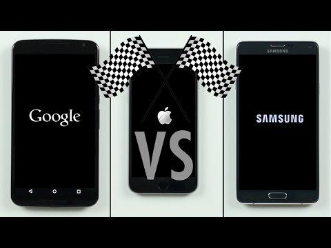 Nexus 6 İphone 6 Not 4 Hız Testi Vs Vs