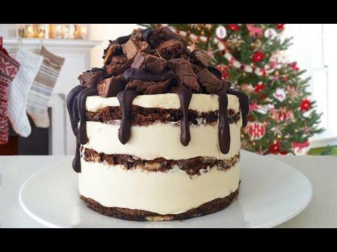 Çikolatalı Brownıe Cheesecake Tarifi Bu Ann Reardon Yemek Yapmayı