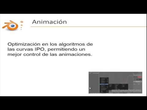 Öğretici Intermedio De Blender - 14 - Nueva Sürüm De Blender