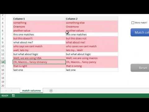 Mektup Veya Word Excel Tarafından Veri 2 Takım Karşılaştırma | Exceltutorials