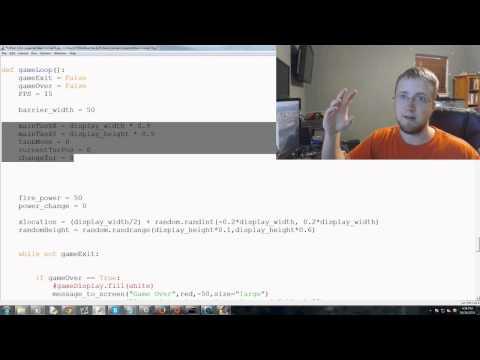 Pygame (Python Oyun Geliştirme) Eğitimi - 74 - Düşman Tank Bölüm 1