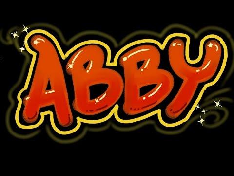 Abby Grafiti Harf - Hızlı Sürümü - Adınızı Almak!