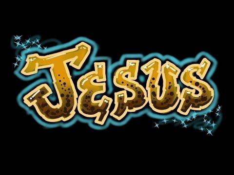 Jesus Grafiti Harf - Hızlı Sürümü - Adınızı Almak!