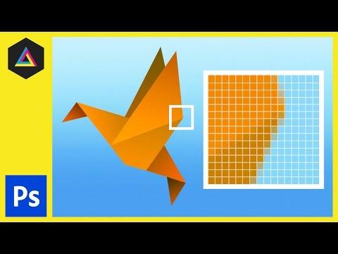Raster Görüntü İlkeleri İçinde Adobe Photoshop Ep3/33 [Yeni Başlayanlar İçin Adobe Photoshop]