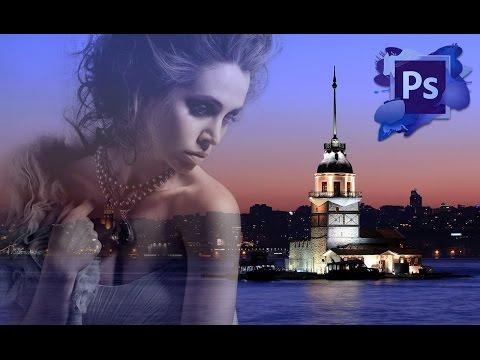 Öğretici Photoshop Cc - Resimleri İki Karıştırmak Nasıl Birlikte Fotoğraf Efektleri