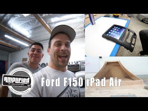 İpad Hava Ford F150 Dash Kit Yüklü.