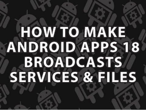 Nasıl Android Uygulamaları 18 Yapmak