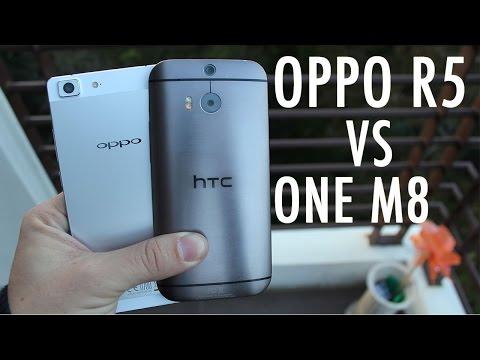 Oppo R5 Vs Htc Bir M8: Vs Güçlü İnce